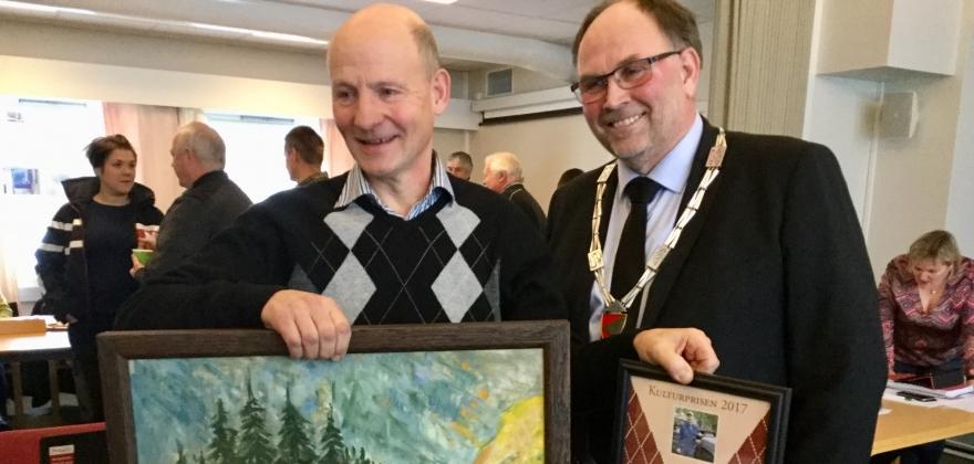 Kulturprisen 2017 for Nes kommune til Johannes Høva