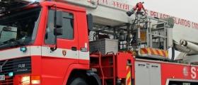 Brann i Novemabygget på FLå
