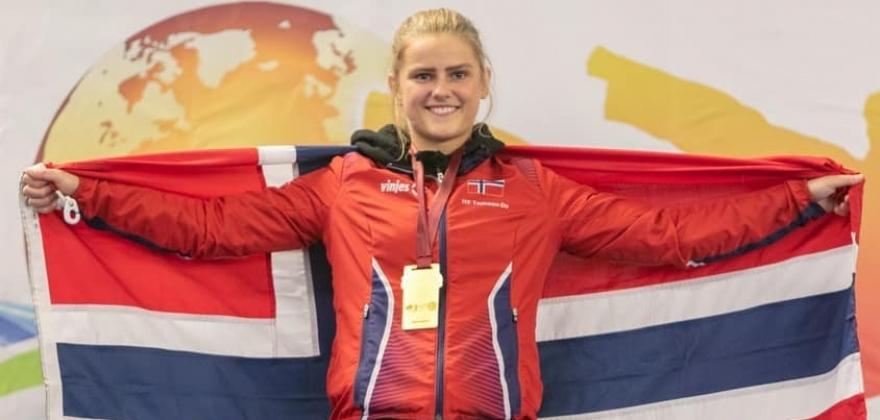 HALLINGPORTRETTET: Selma Øen Li