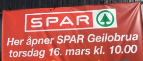 Klart for Spar Geilobrua