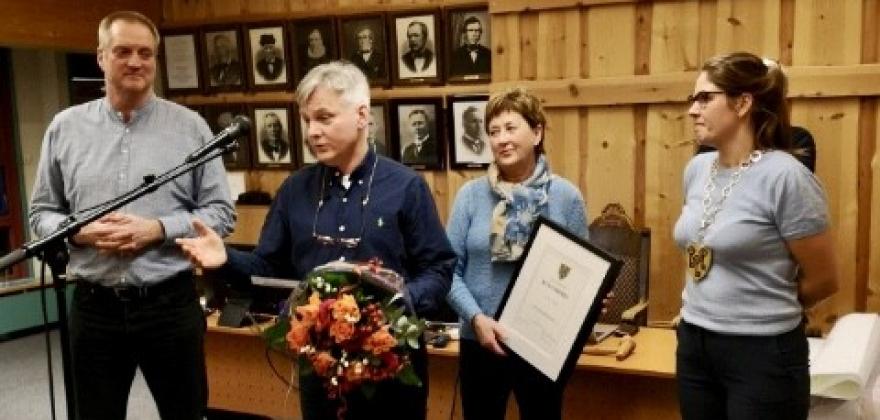Kulturpris til Solstad!