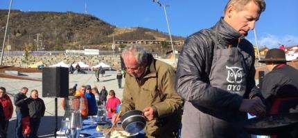 Matfestival i vinden