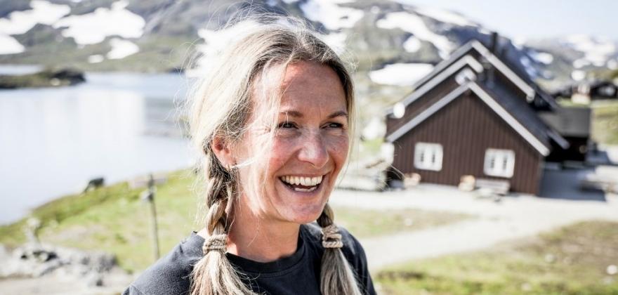 HALLINGPORTRETTET: Marit H. Wøllo