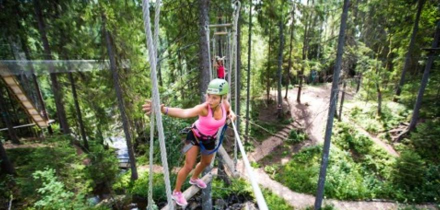 Hemsedal klatrepark opnar 23. juni