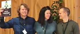 Swoff vinnaren av Start Upp Hallingdal