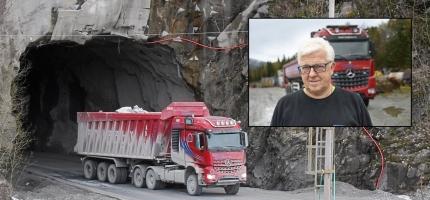 Torbjørn Engene fyrst i Europa som blir utkonkurrert av sjølvgåande lastebilar
