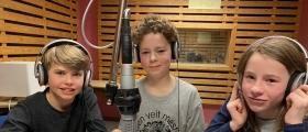 Embrik, Emil og Ingunn fra Leveld skole til semifinale