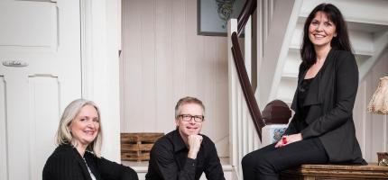Konsert med Tre på trappene