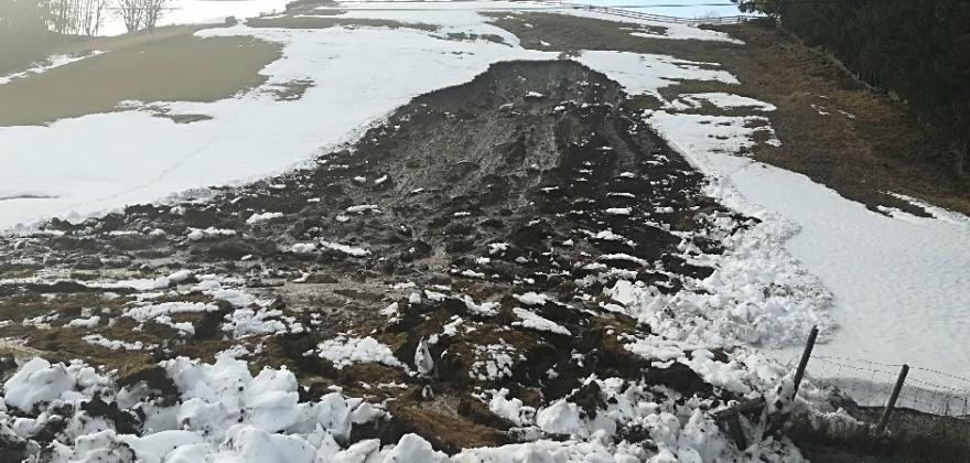 Fleire jordras i Hallingdal onsdag