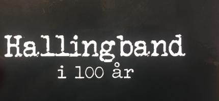 100 års musikkhistorie frå Hallingdal i bokform