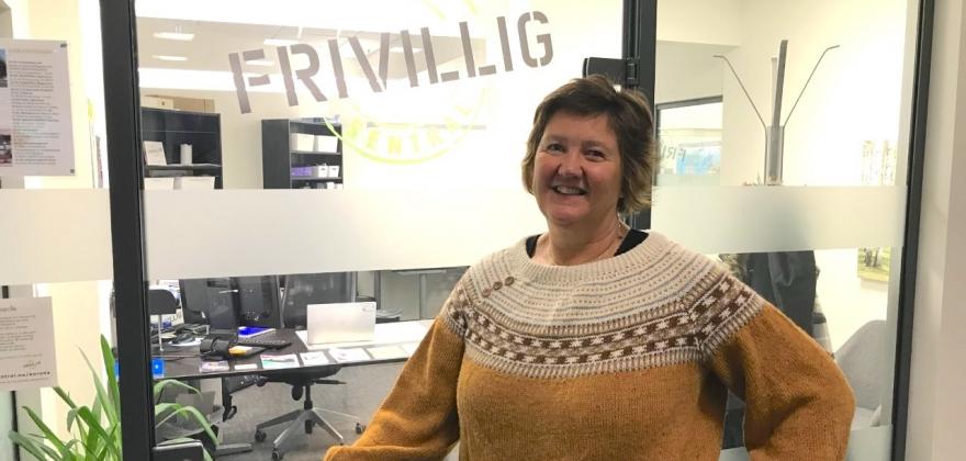 HALLINGPORTRETTET: Turid Hilde Sørbøen Gåsbakk