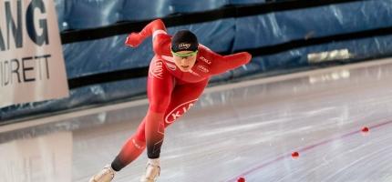 Hege Bøkko markerte styrken med to gull, ei sølv og Kongepokal i NM enkeltdistanser.