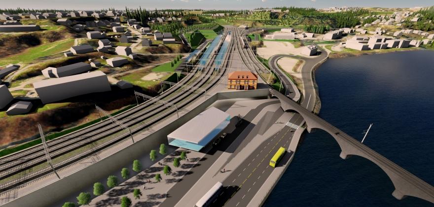 Reguleringsplanen for ny E 16 og Ringeriksbanen er klar.