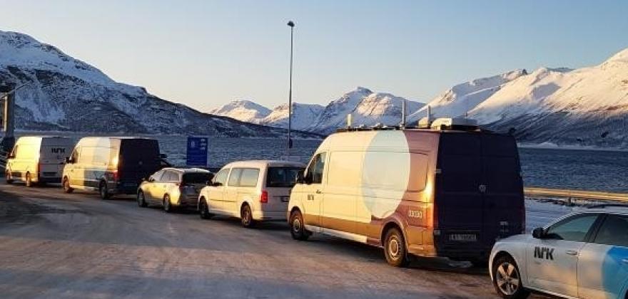 Norge nå med sending frå Hol ysteri