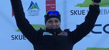 Hege Bøkko norsk mester på 500m NM enkeltdistanser