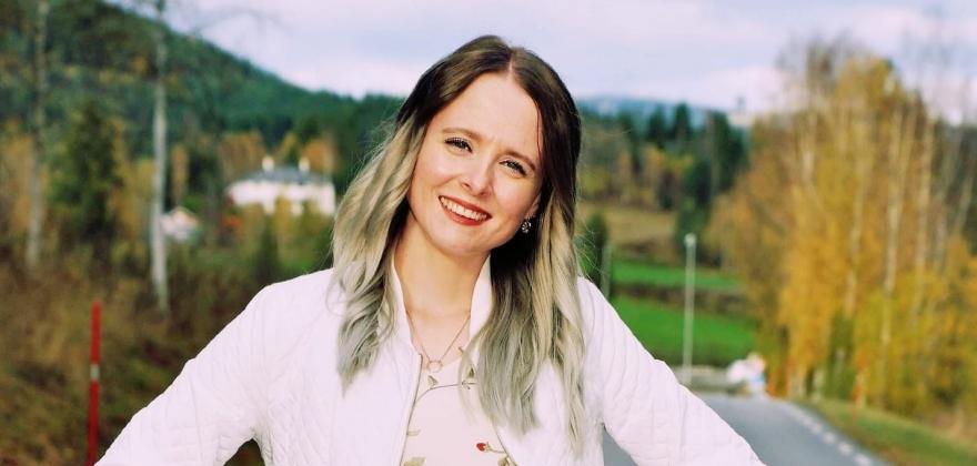 HALLINGPORTRETTET: Mariann Bråten
