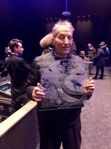 !Knut med Kulturprisen for Hol